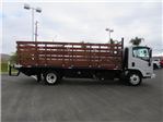 2019 LCF 5500XD Regular Cab,  Martin's Quality Truck Body, Inc. Stake Bed #T19003 - photo 3