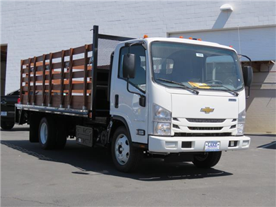 2019 LCF 5500HD Regular Cab,  Martin's Quality Truck Body Stake Bed #T19006 - photo 3