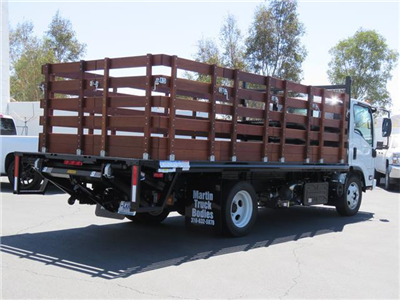 2019 LCF 5500HD Regular Cab,  Martin's Quality Truck Body Stake Bed #T19006 - photo 2