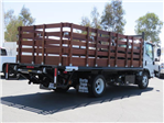 2019 LCF 5500HD Regular Cab,  Martin's Quality Truck Body Stake Bed #T19006 - photo 1