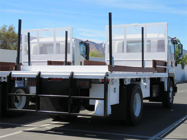 2019 LCF 6500XD Regular Cab,  Martin's Quality Truck Body Platform Body #T19038 - photo 2