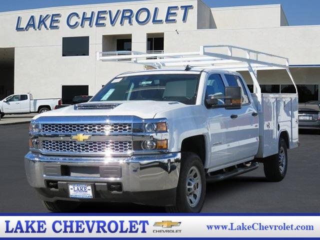 2019 Silverado 3500 Crew Cab 4x4,  Harbor TradeMaster Service Body #T19087 - photo 1