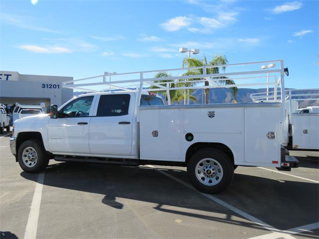 2019 Silverado 3500 Crew Cab 4x4,  Harbor TradeMaster Service Body #T19087 - photo 2