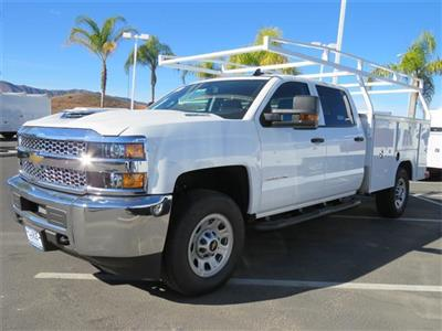 2019 Silverado 3500 Crew Cab 4x4,  Harbor TradeMaster Service Body #T19087 - photo 3
