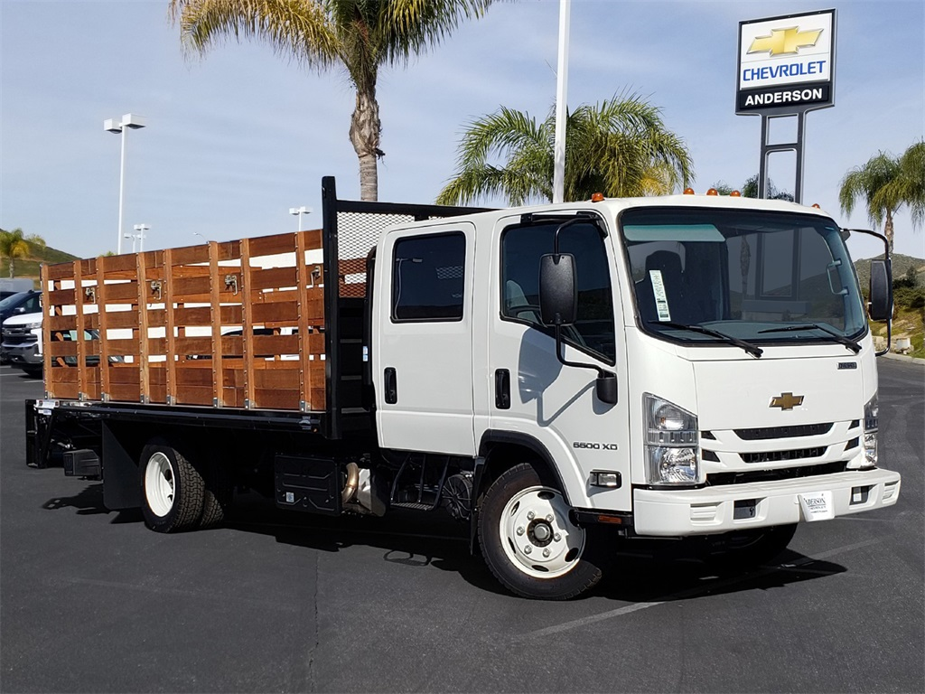 2019 Chevrolet LCF 5500XD Crew Cab 4x2, 16' Stakebed With Liftgate #T19171 - photo 1