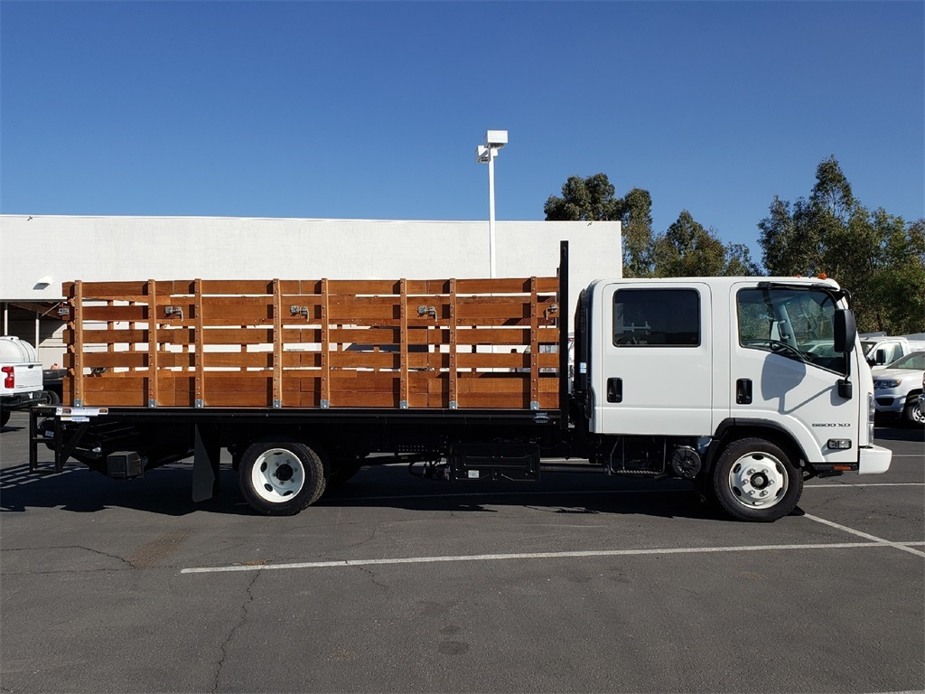 2019 Chevrolet LCF 5500XD Crew Cab 4x2, 16' Stakebed With Liftgate #T19171 - photo 3