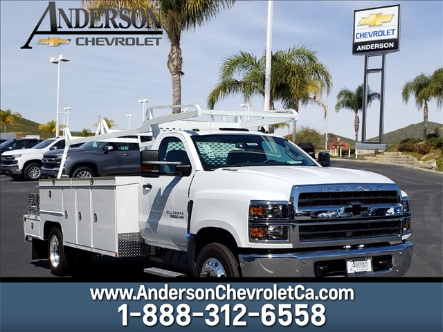 2019 Silverado Medium Duty DRW 4x2,  Scelzi Combo Body #T19247 - photo 1