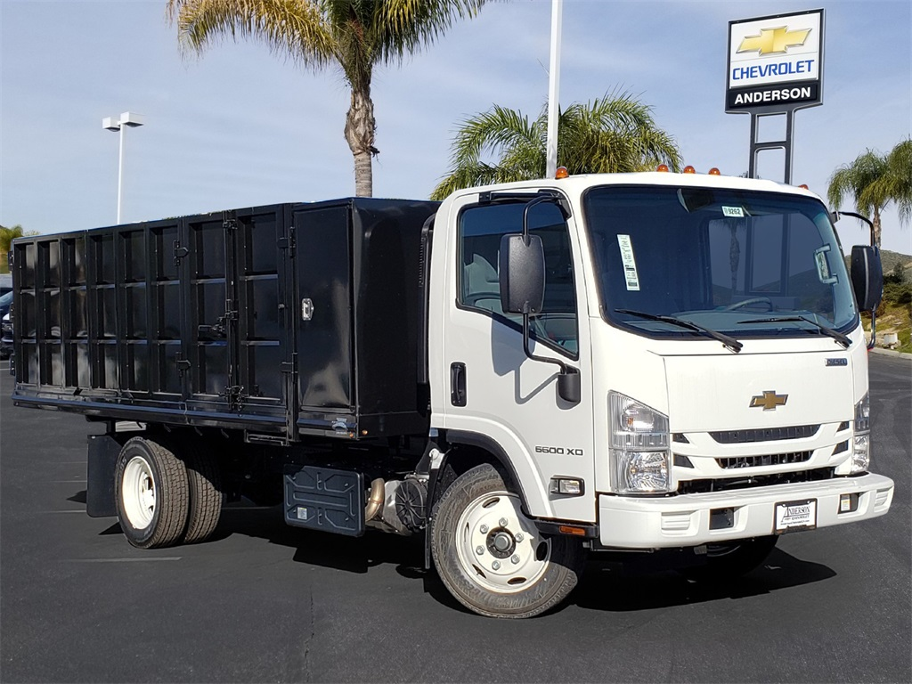 2019 Chevrolet LCF 5500XD Regular Cab 4x2, Martin Landscape Dump #T19262 - photo 1