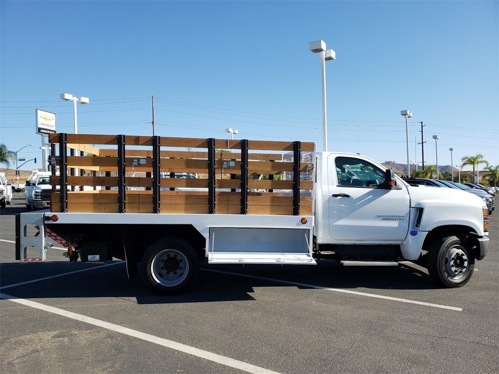 2019 Chevrolet Silverado Medium Duty Regular Cab DRW 4x2, SoCal Upfitters Stake Bed #T19392 - photo 1