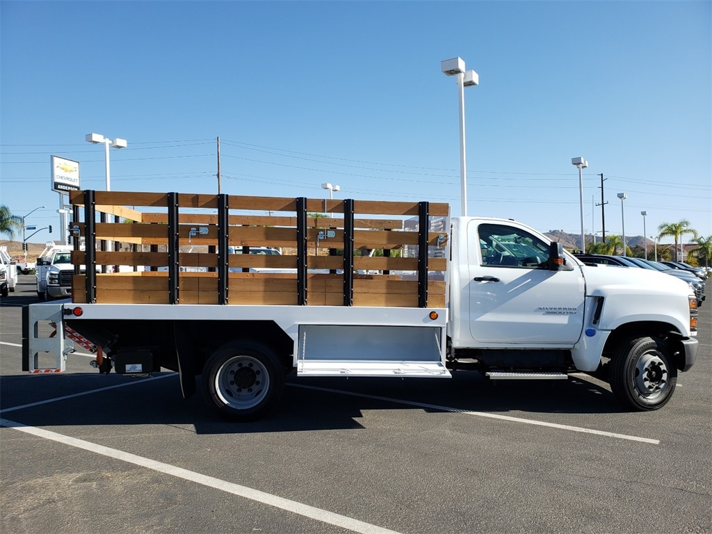 2019 Chevrolet Silverado 5500 Regular Cab DRW 4x2, SoCal Upfitters Stake Bed #T19392 - photo 1