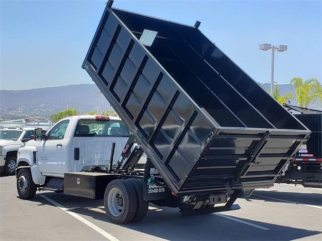 2019 Silverado Medium Duty Regular Cab DRW 4x2,  Martin Landscape Dump #T19420 - photo 1