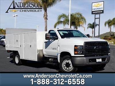 2019 Silverado Medium Duty Regular Cab DRW 4x2,  Harbor SawMaster Saw Body #T19422 - photo 1