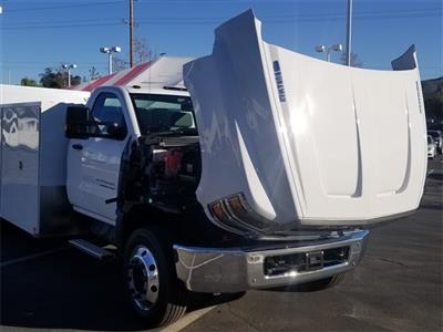 2019 Silverado Medium Duty Regular Cab DRW 4x2,  Harbor SawMaster Saw Body #T19422 - photo 14