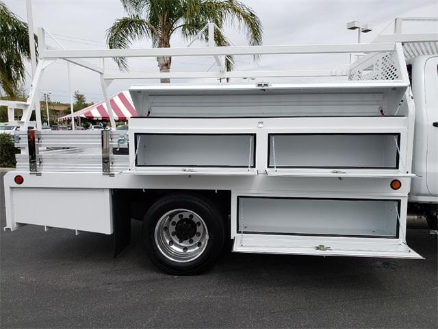 2019 Silverado Medium Duty Crew Cab DRW 4x2,  Scelzi Contractor Body #T19440 - photo 1