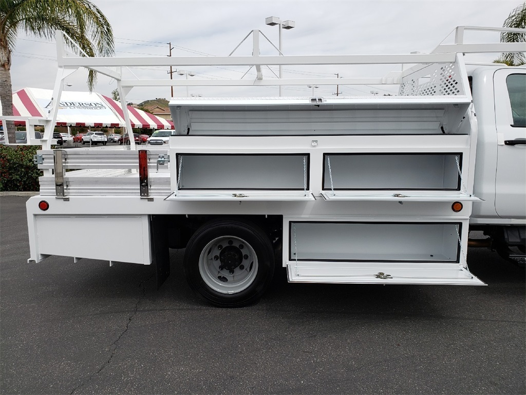 2019 Silverado Medium Duty Regular Cab DRW 4x2,  Scelzi Contractor Body #T19441 - photo 1