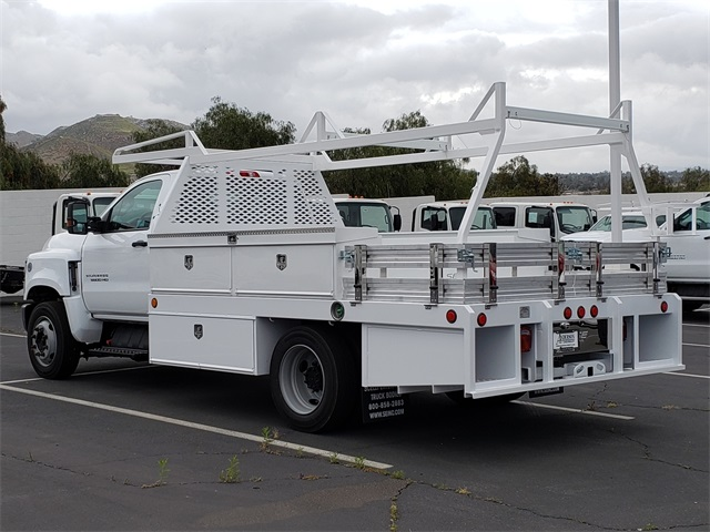 2019 Silverado Medium Duty Regular Cab DRW 4x2,  Scelzi Contractor Body #T19452 - photo 1