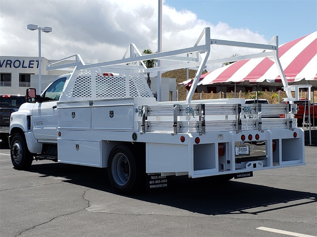 2019 Silverado Medium Duty Regular Cab DRW 4x2, Scelzi Contractor Body #T19468 - photo 1