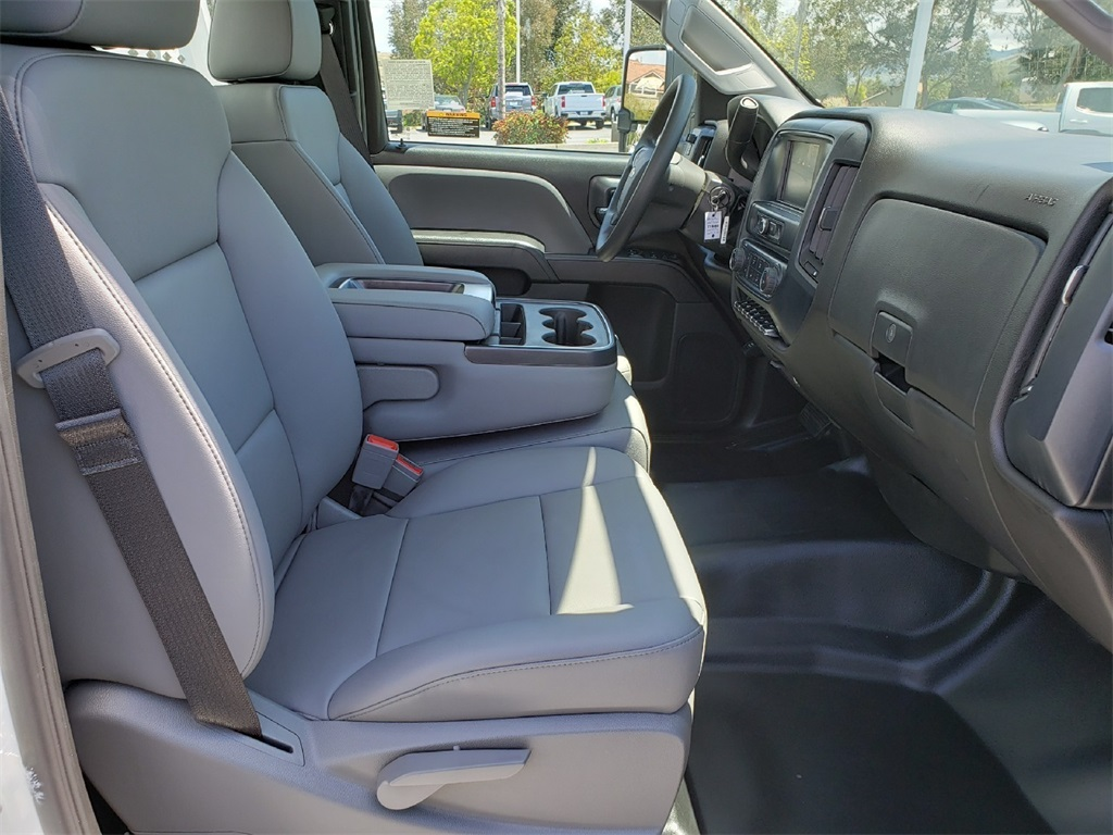 2019 Chevrolet Silverado 5500 Regular Cab DRW 4x2, Scelzi CTFB Contractor Body #T19468 - photo 7