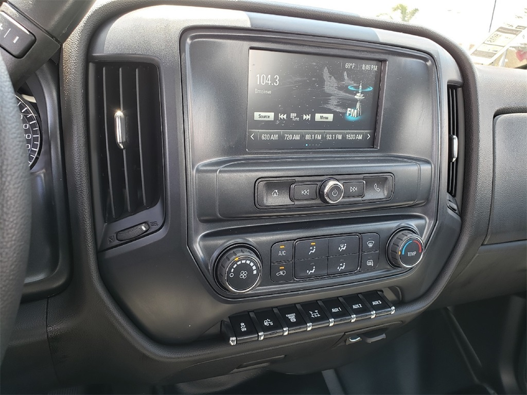 2019 Chevrolet Silverado 5500 Regular Cab DRW 4x2, Scelzi CTFB Contractor Body #T19468 - photo 9