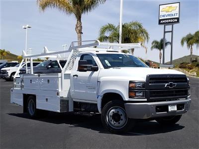 2019 Chevrolet Silverado 5500 Regular Cab DRW 4x2, Scelzi CTFB Contractor Body #T19468 - photo 1