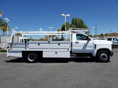 2019 Chevrolet Silverado Medium Duty Regular Cab DRW 4x2, Scelzi CTFB Contractor Body #T19479 - photo 4