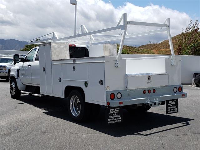 2019 Silverado Medium Duty Crew Cab DRW 4x2,  Scelzi Service Body #T19594 - photo 1