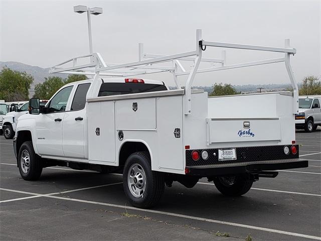 2019 Silverado 2500 Double Cab 4x2,  Harbor Service Body #T19677 - photo 1