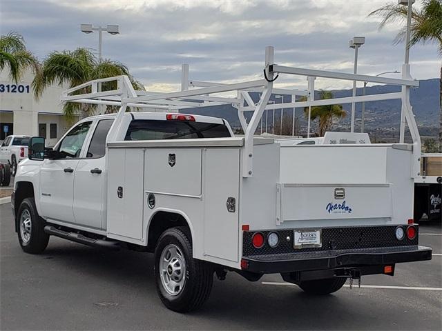 2019 Silverado 2500 Double Cab 4x2, Harbor Service Body #T19832 - photo 1
