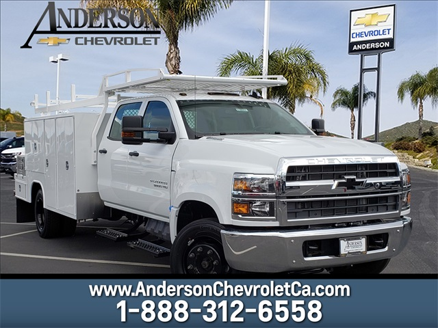 2019 Chevrolet Silverado Medium Duty Crew Cab DRW 4x2, Harbor Combo Body #T19837 - photo 1