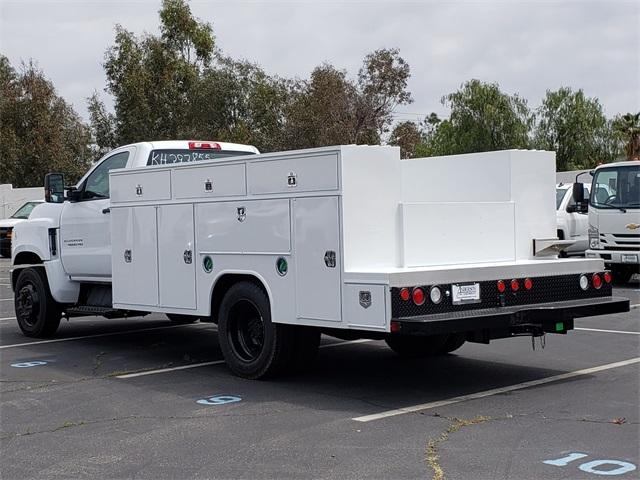 2019 Silverado Medium Duty Regular Cab DRW 4x2, Harbor Service Body #T19843 - photo 1