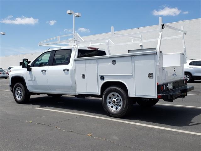 2020 Silverado 3500 Crew Cab 4x2, Harbor Service Body #T20344 - photo 1