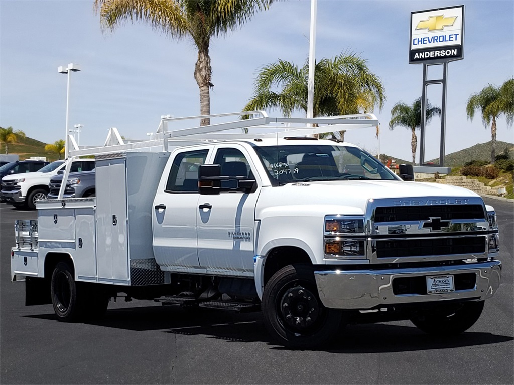 2020 Chevrolet Silverado 5500 Crew Cab DRW 4x2, Scelzi Combo Body #T20376 - photo 1