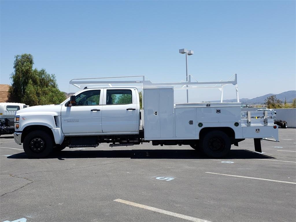 2020 Chevrolet Silverado 5500 Crew Cab DRW 4x2, Scelzi SEC Combo Body #T20376 - photo 9