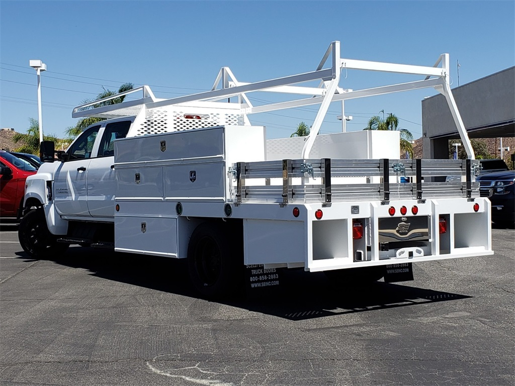 2020 Chevrolet Silverado 5500 Crew Cab DRW 4x2, Scelzi Contractor Body #T20404 - photo 1