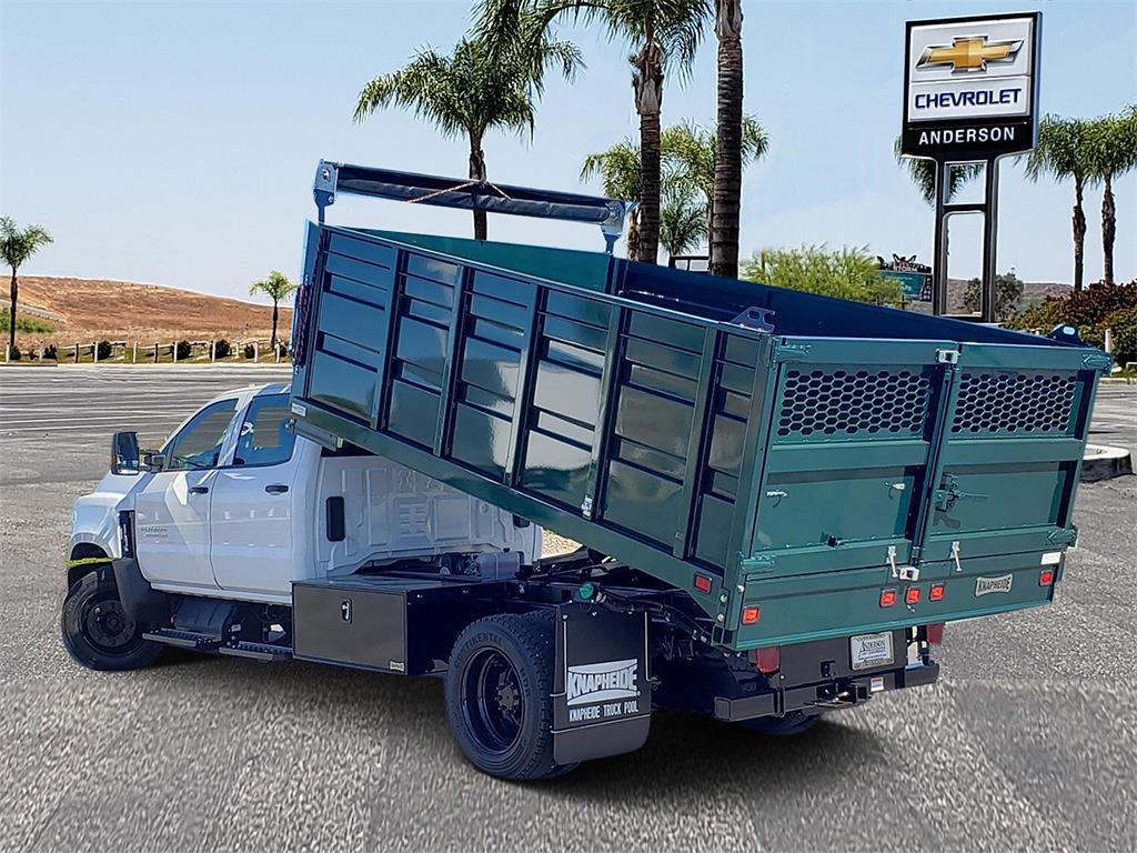 2020 Chevrolet Silverado 5500 Crew Cab DRW 4x2, Knapheide Landscape Dump #T20601 - photo 1