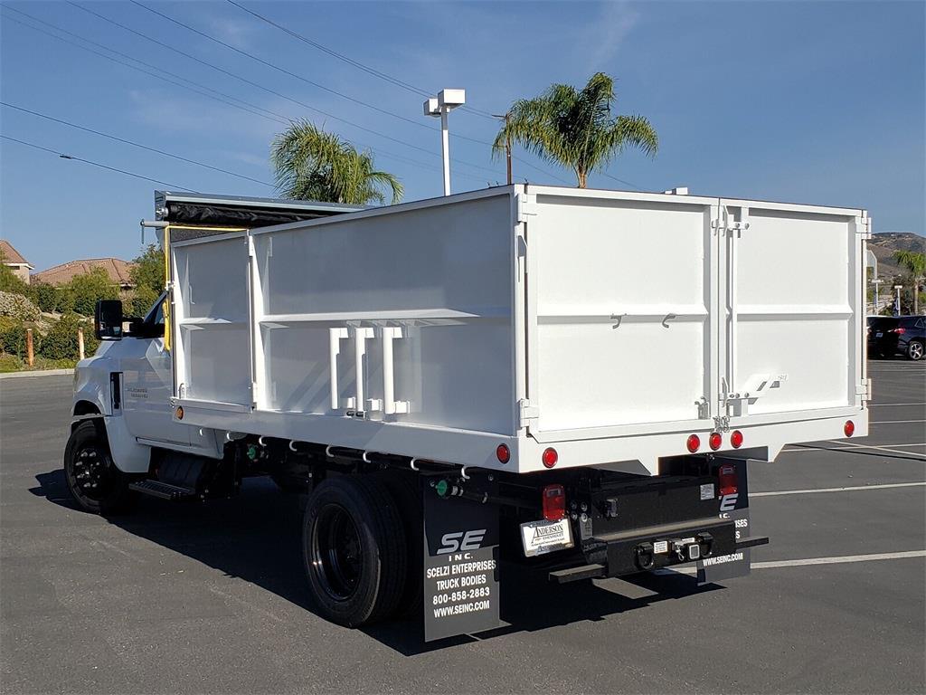 2020 Chevrolet Silverado 5500 Regular Cab DRW 4x2, Scelzi Dump Body #T20604 - photo 1