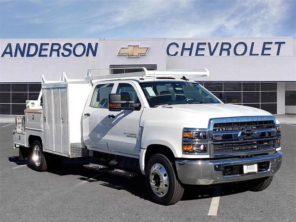 2021 Chevrolet Silverado 5500 Crew Cab DRW 4x2, Scelzi Combo Body #T21420 - photo 1