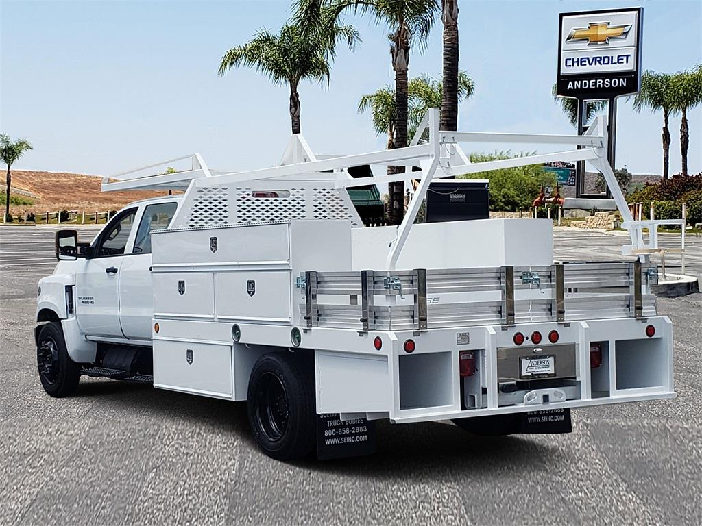 2021 Chevrolet Silverado 5500 Crew Cab DRW 4x2, Scelzi Contractor Body #T21444 - photo 1