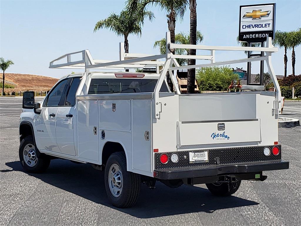 2021 Chevrolet Silverado 2500 Double Cab 4x2, Harbor Service Body #T21505 - photo 1