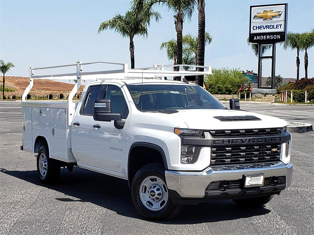 2021 Chevrolet Silverado 2500 Double Cab 4x2, Royal Truck Body Service Body #T21507 - photo 1