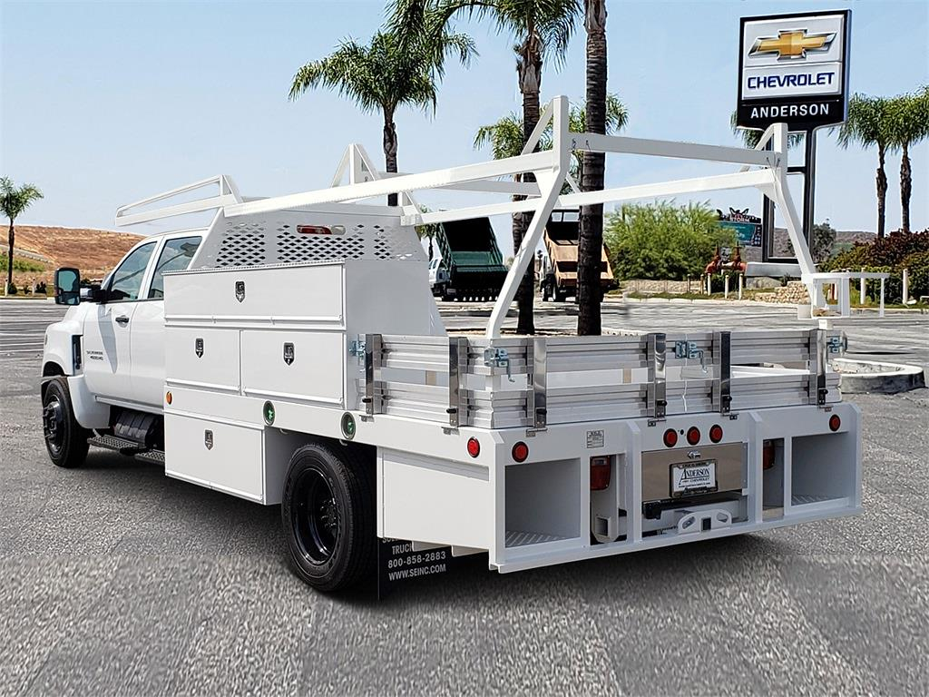 2021 Chevrolet Silverado 4500 Crew Cab DRW 4x2, Scelzi Contractor Body #T21527 - photo 1