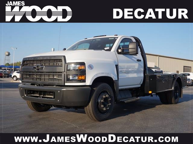 2020 Chevrolet Silverado 4500 Regular Cab DRW RWD, CM Truck Beds SK Model Platform Body #102251 - photo 1