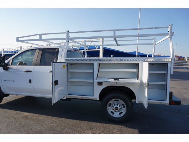 2020 Chevrolet Silverado 2500 Double Cab RWD, Royal Service Body #102823 - photo 9
