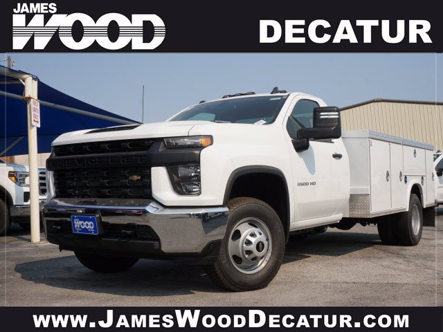 2020 Chevrolet Silverado 3500 Regular Cab DRW RWD, Royal Service Body #103210 - photo 1