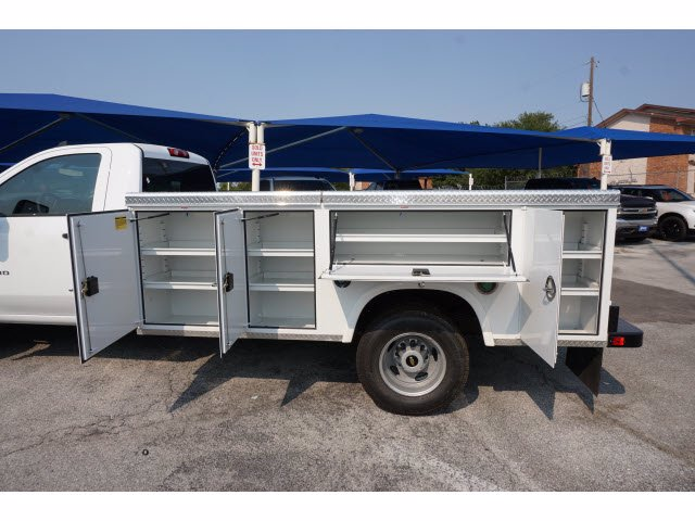 2020 Chevrolet Silverado 3500 Regular Cab DRW RWD, Royal Service Body #103210 - photo 7