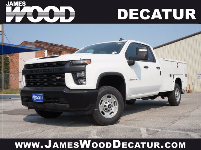 2020 Chevrolet Silverado 2500 Double Cab 4x2, Knapheide Steel Service Body #103239 - photo 1