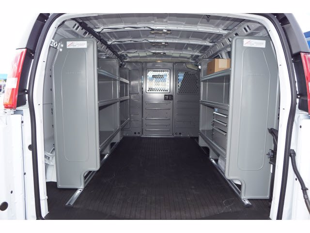 2020 Chevrolet Express 2500 4x2, Adrian Steel Commercial Shelving Upfitted Cargo Van #103277 - photo 2
