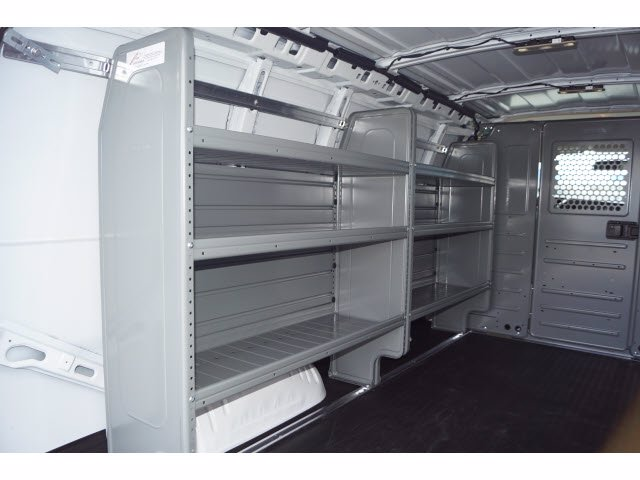 2020 Chevrolet Express 2500 4x2, Adrian Steel Commercial Shelving Upfitted Cargo Van #103277 - photo 8