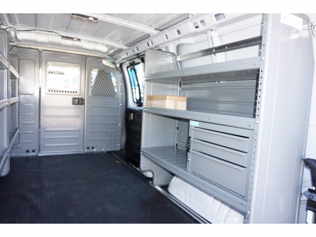 2020 Chevrolet Express 2500 4x2, Adrian Steel Commercial Shelving Upfitted Cargo Van #103281 - photo 9