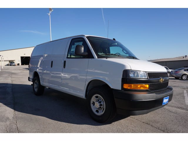 2020 Chevrolet Express 2500 4x2, Adrian Steel PHVAC Upfitted Cargo Van #103285 - photo 4
